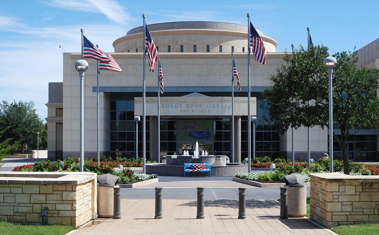 George Bush Library and Museum | BCR Realtors | Brazos Valley | TX Real Estate | TX Homes