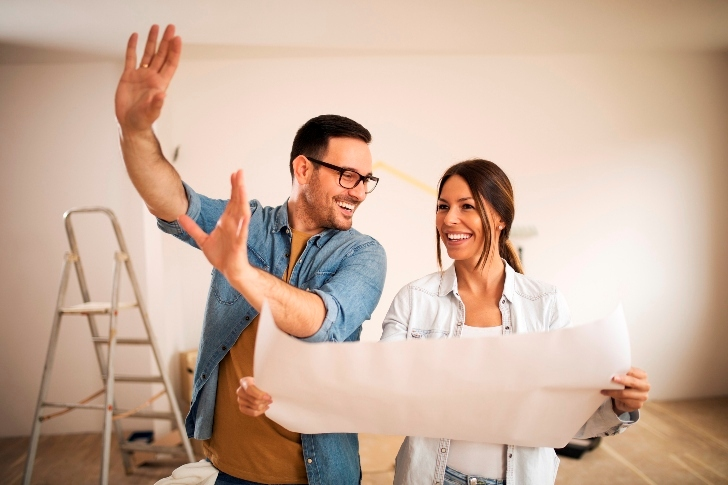 couple planning for selling their house